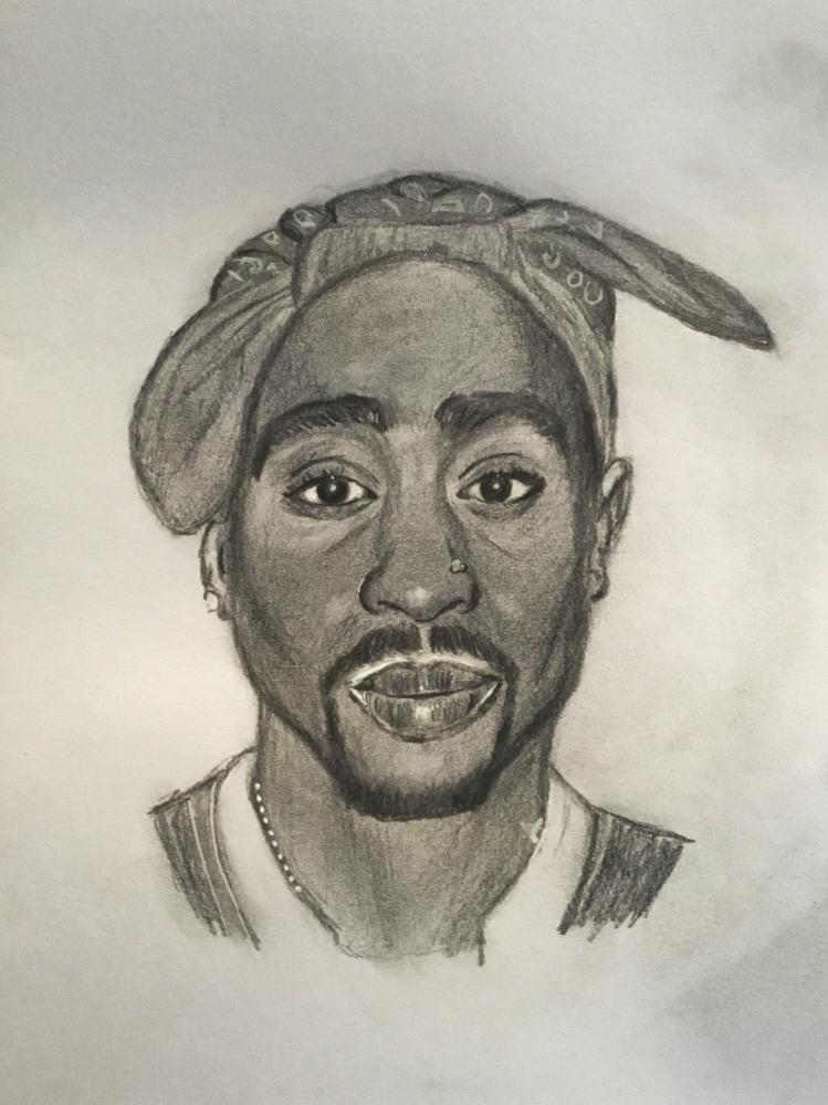 Tupac por Bev50